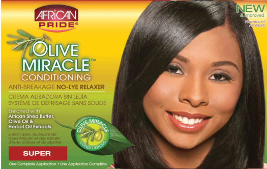 Olive Miracle No-Lye Relaxer Super